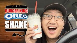 Burger King Oreo Shake Ken Domik Style Review     HellthyJunkFood