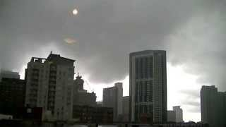 Remnants of a Tornado over Chicago June 15th, 2015 Timelapse Video HD