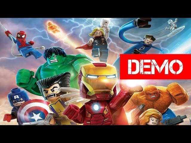 Lego Marvel Super Heroes - Demo Gameplay Walkthrough
