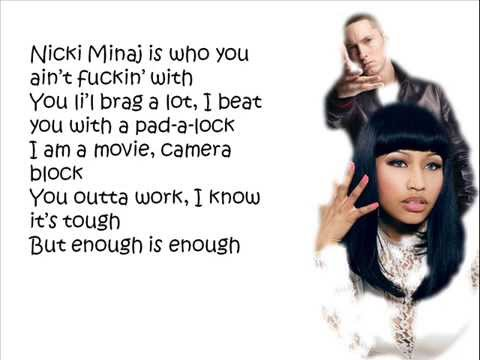 Nicki Minaj ft. Eminem - Roman's Revenge (Dungeon Dragon) Lyrics