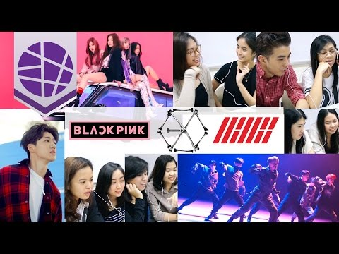 Filipinos React to Kpop #7 (EXO, iKON, BLACKPINK) | EL's Planet