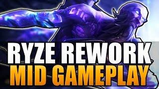 RYZE REWORK IS BROKEN! - Mid Gameplay - League of Legends