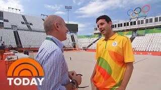 Let The Games Begin! Matt Lauer Tours Olympic Village And Venues | TODAY