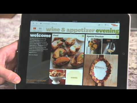 Better Homes and Gardens iPad holiday app.mov