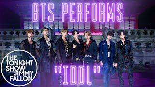 BTS: IDOL | The Tonight Show Starring Jimmy Fallon