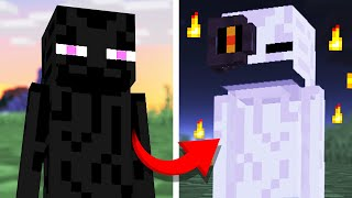 We REMADE the Minecraft Enderman 5 Different Ways from Scratch