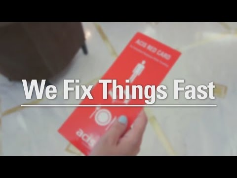 Why Choose ACIS? - We Fix Things Fast