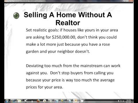 Selling A Home Without A Realtor