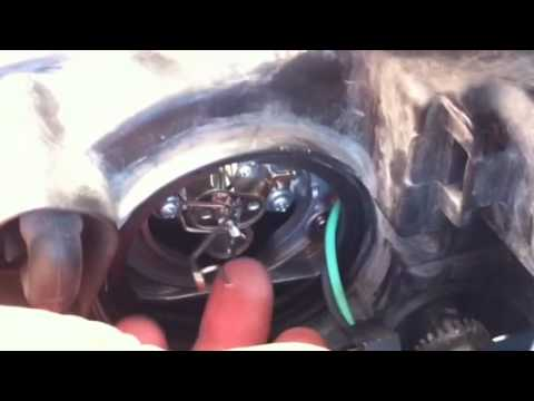 Change Headlight 06 Hyundai Sonata No Tools Required
