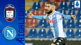 Crotone 0-4 Napoli | Insigne On Target As Napoli Cruise To Victory | Serie A TIM