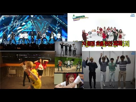 Idol Sing & Dance to Super Junior Part 1 (GOT7 Seventeen Shinee Zea Dongjun Twice Lovelyz SMTOWN)