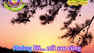 Karaoke - Trich doan Xin mot lan yeu nhau - HD.avi