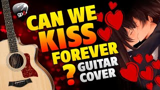 Kina - Can We Kiss Forever (Fingerstyle Guitar Cover With Tabs And Karaoke)