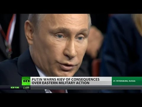 "Putin Warns Of ""consequences"" If Ukraine Military Continues Crackdown - Smashpipe News"