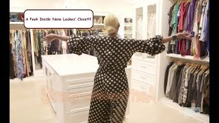 RHOA House Tour: A Sneak Peek Inside RHOA NeNe Leakes' Closet!!