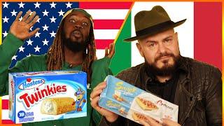 Americans & Italians Swap Snacks