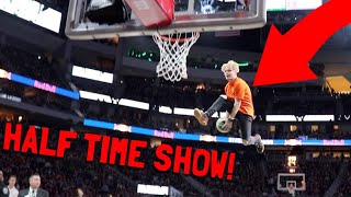I Performed At A NBA Half Time Show!?!?