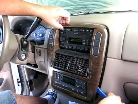 how to remove radio cd changer from 2003 ford explorer. Black Bedroom Furniture Sets. Home Design Ideas