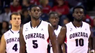 Gonzaga Basketball - 18 Years of Tournament Teams