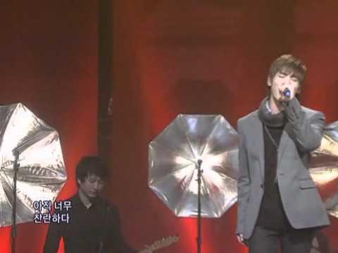 SHINee - Hyeya (샤이니종현 - 혜야) @SBS Inkigayo 인기가요 20081214