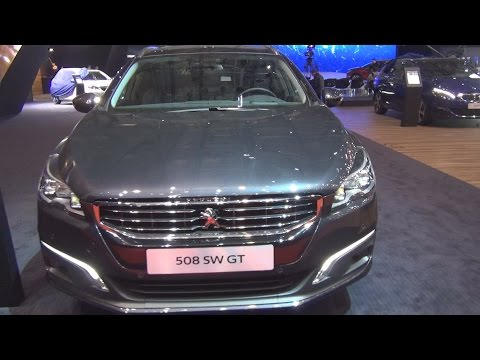 Peugeot 508 SW GT BlueHDi 180 Start&Stop EAT6 (2016) Exterior and Interior in 3D