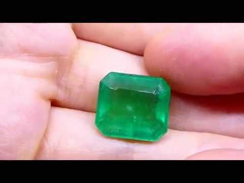 10.37 ct GIA Certified Emerald Gemstone