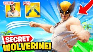*NEW* WOLVERINE SECRET SKIN unlocked in Fortnite! (EASY GUIDE)