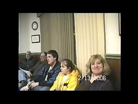 Champlain Village Board Meeting  2-13-06