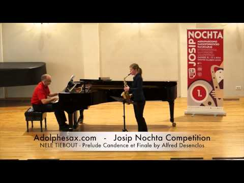 Josip Nochta Competition NELE TIEBOUT Prelude Candence et Finale by Alfred Desenclos