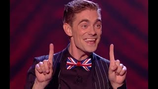 Comedian Magician Matt Do Some Mind Blowing Tricks With His Body | Final | Britain's Got Talent 2017