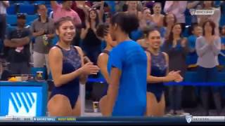 UCLA Gymnast Introduction - 2018 Meet the Bruins