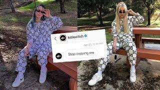 I DRESSED LIKE BILLIE EILISH FOR A WEEK *Billie was mad*