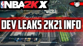 """NBA 2K21 INFO LEAKED BY DEV - NBA 2K """"X"""" MEANING   FREE TO PLAY + MORE"""