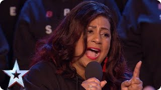 The B-Positive Choir are ready to 'Rise Up' | Auditions Week 1 | Britain's Got Talent 2018