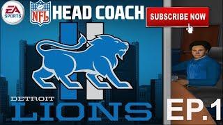 NFL Head Coach Let's Play Ep.1