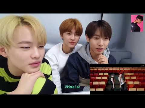 [ENG SUB] NCT Dream Reacting to NCT U Baby Don't Stop MV