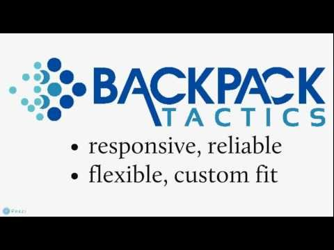 Backpack Tactics is the perfect IT solution for small & med businesses, nonprofits, and home office