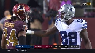 Dez Bryant vs Josh Norman (2017 wk 8) | WR vs CB Highlights