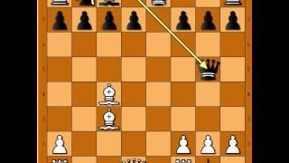 Neverovatni potezi i taktika !!!  Mamac - LINDEHN vs MACZUSKI - Danski gambit  # 599