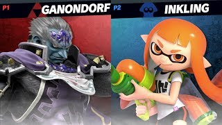 Super Smash Bros Ultimate Duncan (Ganon) vs Shofu (Inkling) - DIRECT CAPTURE