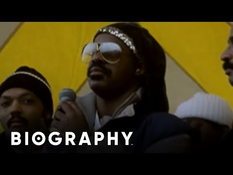 Stevie Wonder - Martin Luther King Day | Biography