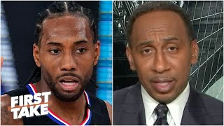 Stephen A.: Kawhi has not been worth it for the Clippers | First Take