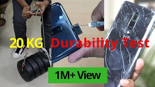 OnePlus 7 Pro Drop Test | POP UP Camera DURABILITY | 20 KG Stress Test | Water Proof Test | Hindi