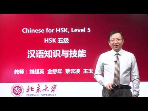 Chinese HSK 5 week 5 lesson 23