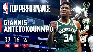 Giannis Goes Off in 4th Quarter! | May 6, 2019