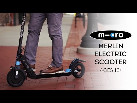 Video MICRO Electric Scooter MERLIN