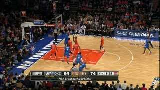 Nick Collison Finds Steven Adams for the Flush - Top NBA Christmas Plays