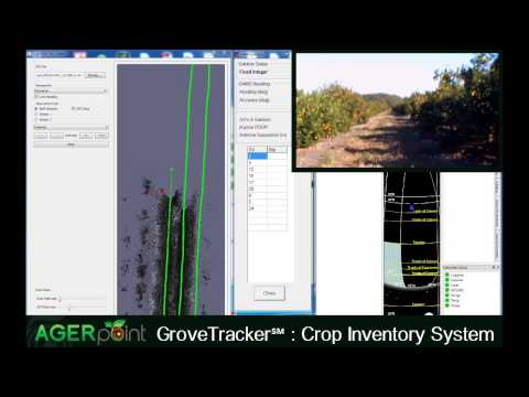 GroveTracker℠ demo video of an orange grove in Southwest Florida