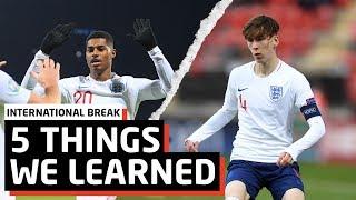 5 Things We Learned On International Break | Man United