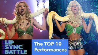 The TOP 10 BEST Lip Sync Battle Performances (IN FULL)